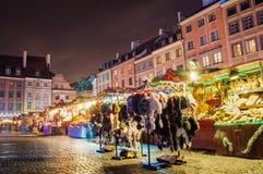 Τετράγωνο αγοράς στη Βαρσοβία στοκ εικόνες