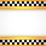 Τετράγωνο ανασκόπησης ταξί διανυσματική απεικόνιση