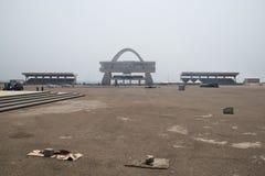 Τετράγωνο ανεξαρτησίας στην Άκρα, Γκάνα στοκ φωτογραφία