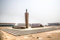 Τετράγωνο ανεξαρτησίας στην Άκρα, Γκάνα στοκ φωτογραφία με δικαίωμα ελεύθερης χρήσης