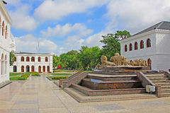 Τετράγωνο ανεξαρτησίας Arcade, Colombo Σρι Λάνκα στοκ φωτογραφία με δικαίωμα ελεύθερης χρήσης