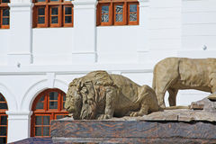 Τετράγωνο ανεξαρτησίας Arcade, Colombo Σρι Λάνκα στοκ εικόνα