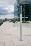 τετράγωνο γραφείων ομάδω&nu Στοκ φωτογραφία με δικαίωμα ελεύθερης χρήσης