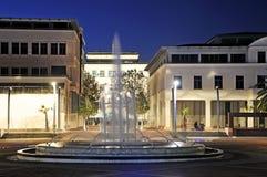 Τετράγωνο Δημοκρατίας Podgorica Στοκ φωτογραφίες με δικαίωμα ελεύθερης χρήσης