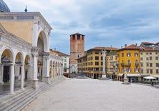 Τετράγωνο ελευθερίας στην ιταλική πόλη Udine Στοκ φωτογραφία με δικαίωμα ελεύθερης χρήσης