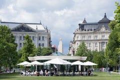 Τετράγωνο ελευθερίας στη Βουδαπέστη Στοκ φωτογραφία με δικαίωμα ελεύθερης χρήσης