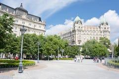 Τετράγωνο ελευθερίας στη Βουδαπέστη Στοκ Εικόνες