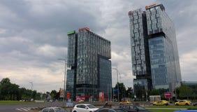 Τετράγωνο ελεύθερου τύπου, στη Ρουμανία Στοκ φωτογραφία με δικαίωμα ελεύθερης χρήσης