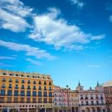 Τετράγωνο δημάρχου του Burgos Plaza στην Καστίλλη Ισπανία Στοκ εικόνες με δικαίωμα ελεύθερης χρήσης