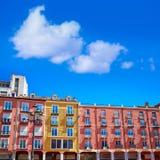 Τετράγωνο δημάρχου του Burgos Plaza στην Καστίλλη Ισπανία Στοκ φωτογραφία με δικαίωμα ελεύθερης χρήσης