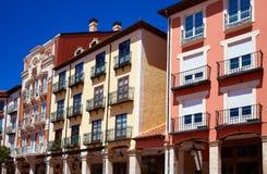 Τετράγωνο δημάρχου του Burgos Plaza στην Καστίλλη Ισπανία Στοκ Εικόνα