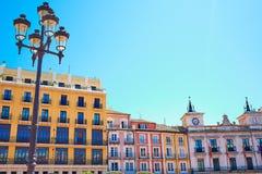 Τετράγωνο δημάρχου του Burgos Plaza στην Καστίλλη Ισπανία Στοκ Εικόνες