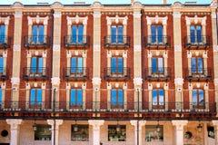 Τετράγωνο δημάρχου του Burgos Plaza στην Καστίλλη Leon Ισπανία Στοκ Εικόνες