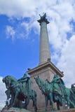 τετράγωνο ηρώων Στοκ φωτογραφία με δικαίωμα ελεύθερης χρήσης