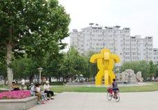 τετράγωνο θερινών πόλεων Στοκ φωτογραφίες με δικαίωμα ελεύθερης χρήσης