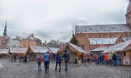 Τετράγωνο θόλων στα Χριστούγεννα στοκ εικόνα με δικαίωμα ελεύθερης χρήσης