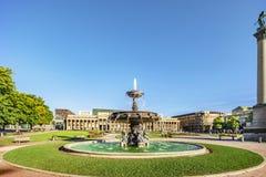 Τετράγωνο κάστρων της Στουτγάρδης στοκ εικόνες με δικαίωμα ελεύθερης χρήσης