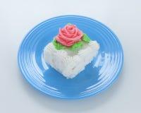 Τετράγωνο κέικ στοκ φωτογραφία