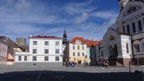 Τετράγωνο καθεδρικών ναών Στοκ φωτογραφία με δικαίωμα ελεύθερης χρήσης