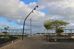 Τετράγωνο και περίπατος Arrecife, Lanzarote, Ισπανία Στοκ φωτογραφία με δικαίωμα ελεύθερης χρήσης