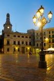 Τετράγωνο και Casa Pinyol αγοράς στοκ εικόνες