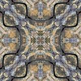 Τετράγωνο καλειδοσκόπιων: Βράχος της νέας γης στοκ εικόνες