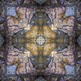 Τετράγωνο καλειδοσκόπιων: Βράχος της νέας γης στοκ φωτογραφία
