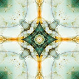 Τετράγωνο καλειδοσκόπιων: chert στρώματα, ακτή του Όρεγκον Στοκ Εικόνες