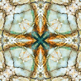 Τετράγωνο καλειδοσκόπιων: chert στρώματα, ακτή του Όρεγκον Στοκ φωτογραφίες με δικαίωμα ελεύθερης χρήσης