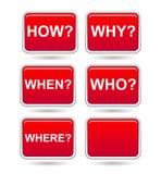 τετράγωνο κουμπιών απεικόνιση αποθεμάτων