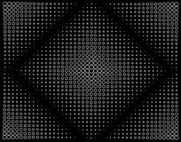 τετράγωνο κύκλων Στοκ εικόνες με δικαίωμα ελεύθερης χρήσης