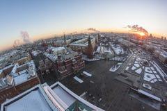 Τετράγωνο μέσα κεντρικός Στοκ Εικόνα