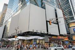 Τετράγωνο μαγαζί λιανικής πώλησης κατά περιόδους στοκ εικόνα
