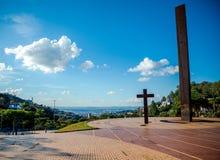 Τετράγωνο μπαμπάδων στη Βραζιλία στοκ φωτογραφίες με δικαίωμα ελεύθερης χρήσης