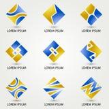 Τετράγωνο λογότυπων Στοκ φωτογραφία με δικαίωμα ελεύθερης χρήσης
