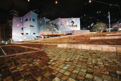 Τετράγωνο ομοσπονδίας, Μελβούρνη Στοκ φωτογραφία με δικαίωμα ελεύθερης χρήσης