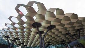 Τετράγωνο ομοσπονδίας της Μελβούρνης στοκ εικόνες