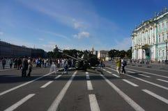 Τετράγωνο παλατιών, Αγία Πετρούπολη, Ρωσία Στοκ φωτογραφία με δικαίωμα ελεύθερης χρήσης