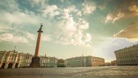 Τετράγωνο παλατιών στο χρονικό σφάλμα πρωινού της Αγία Πετρούπολης