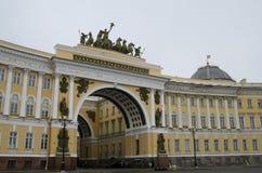 Τετράγωνο παλατιών Στοκ φωτογραφίες με δικαίωμα ελεύθερης χρήσης