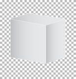 Τετράγωνο πρισμάτων που απομονώνεται στο διαφανές υπόβαθρο Στοκ Εικόνες