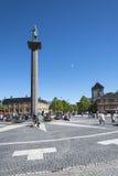 Τετράγωνο πόλεων του Τρόντχαιμ Στοκ Εικόνες