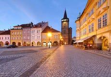 Τετράγωνο πόλεων Jicin Στοκ Εικόνες