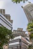 Τετράγωνο πόλεων Masdar Στοκ Εικόνες