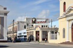 Τετράγωνο σε Cienfuegos, Κούβα στοκ εικόνες με δικαίωμα ελεύθερης χρήσης