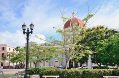 Τετράγωνο σε Cienfuegos, Κούβα στοκ φωτογραφίες