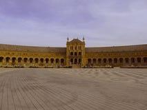 Τετράγωνο στην Ισπανία - τη Σεβίλη Στοκ Εικόνες