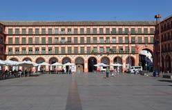 Τετράγωνο στην Κόρδοβα, Ισπανία Στοκ φωτογραφία με δικαίωμα ελεύθερης χρήσης