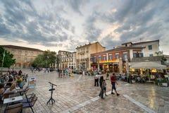 Τετράγωνο στην πόλη Nafplio στοκ φωτογραφίες