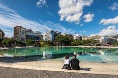 Τετράγωνο της Ισπανίας στην πόλη Santa Cruz de Tenerife, Κανάρια νησιά, Στοκ Εικόνα